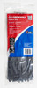 Cable tie blk 300x4.8mm crescent