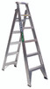 Ladder alum trade 150kg dual purpose 1.8m bailey