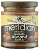 Meridian Organic Smooth Almond Butter with Salt 170 G x 6 Pack