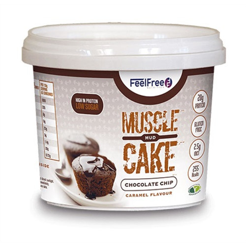 Feel Free Nutrition Muscle Mud Cake 100 G x 16 Pack