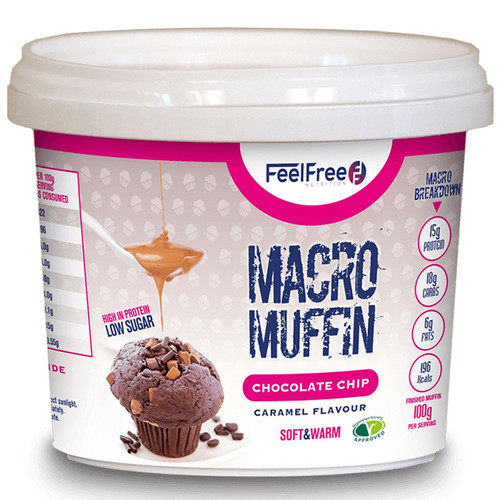 Feel Free Nutrition Macro Muffin 50 G x 16 Pack