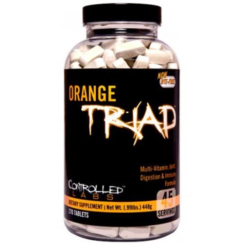 Controlled Labs Orange Triad Multi-Vitamin Joint Digestion & Immune Formula 270 Tablets