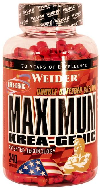 Weider Maximum Krea Genic 240 Capsules