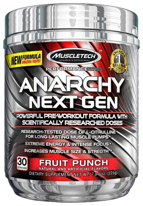 MuscleTech Anarchy Next Gen 30 Servings