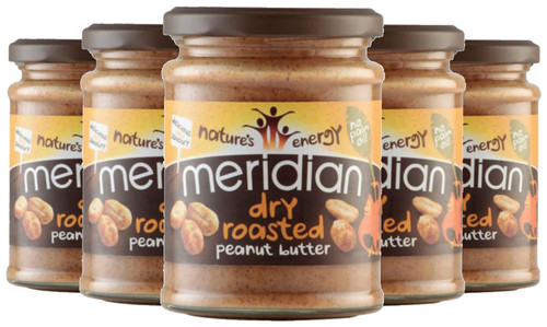 Meridian Dry Roasted Peanut Butter 280 G x 6 Pack