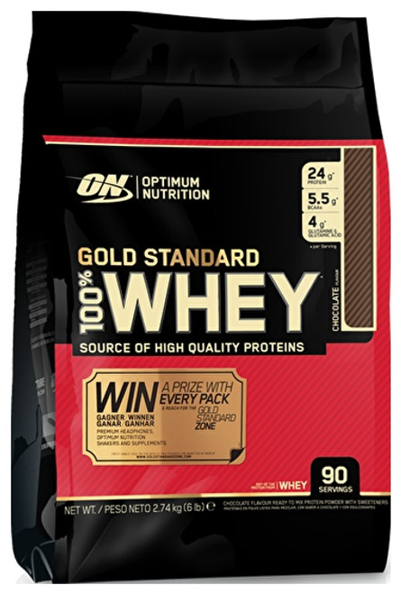 Extra £10 OFF - Optimum Nutrition Gold Standard 100% Whey 2.74 KG (6 LB)
