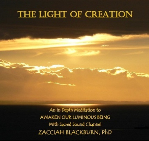 The Light of Creation CD with Zacciah Blackburn