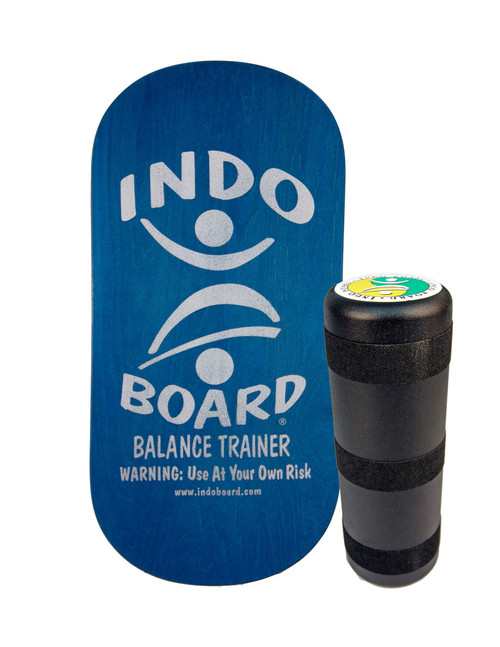 Rocker Board with Roller Blue