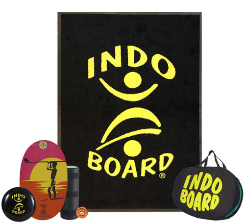 Balance Board Exercises Benefits: Indo Board Original FLO GF Balance Trainer, Original FLO