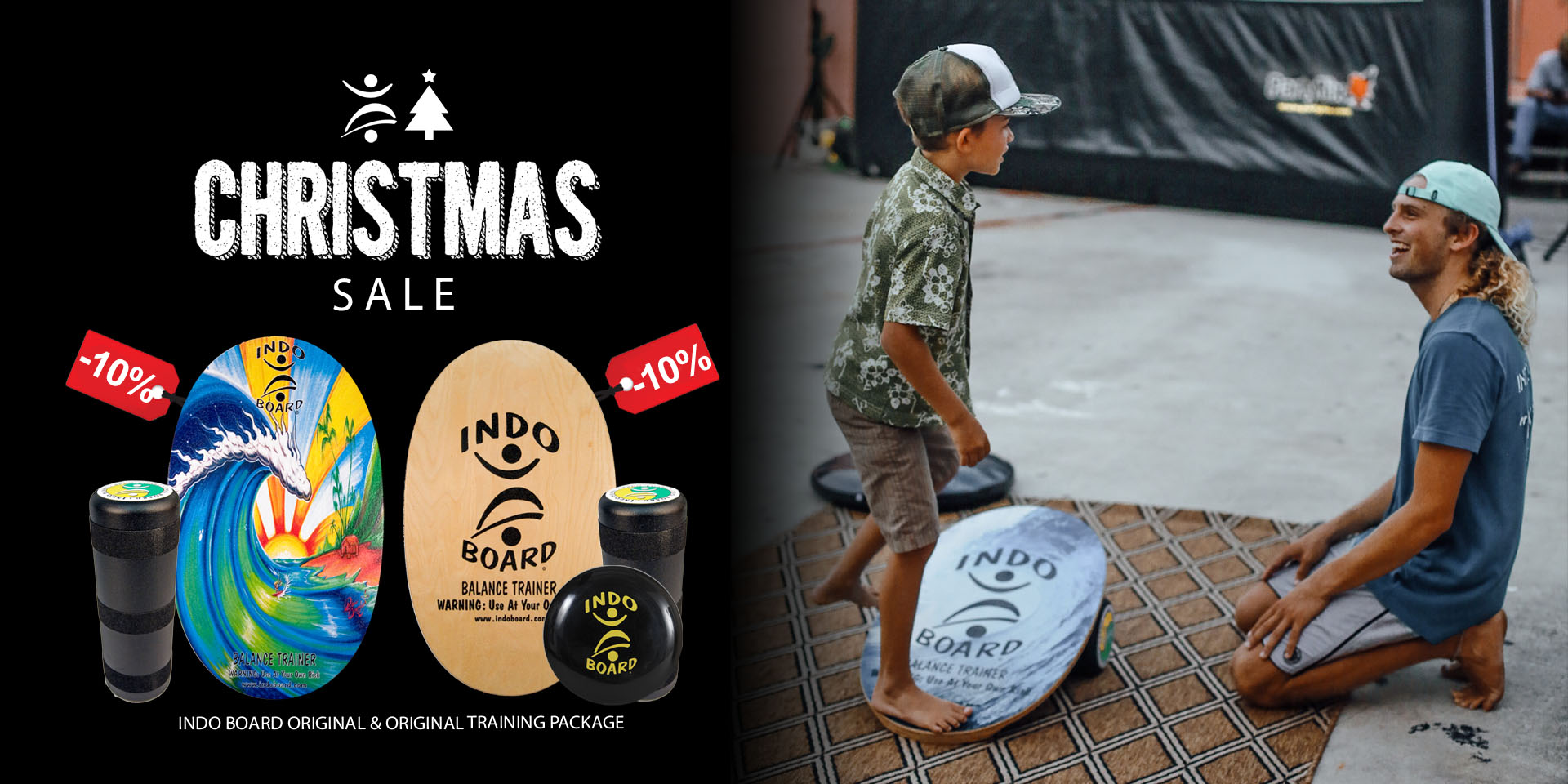 INDO Balance Boards for Christmas