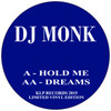 "DJ Monk - Hold Me / Dreams - KLP Records - Limited Edition 12"" Vinyl"