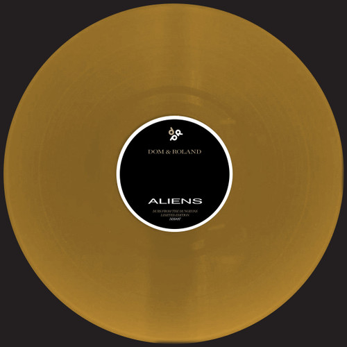"""Dom & Roland - Dubs From The Dungeons - Limited Edition 12"""" Gold Vinyl"""