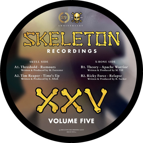 Various Artists - Skeleton Recordings XXV Project: Volume 5 [Picture Disc]