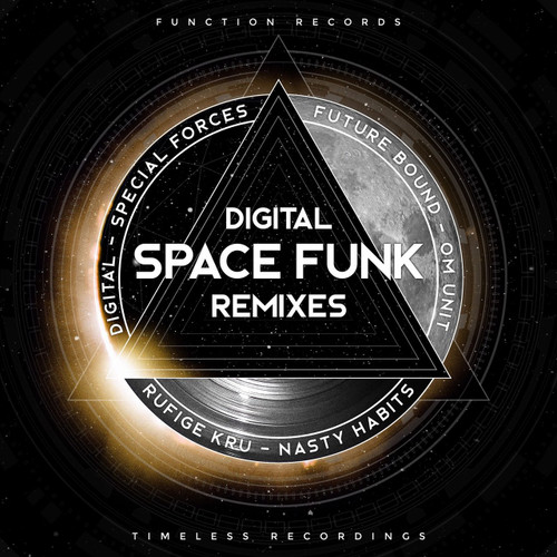 "Digital - Spacefunk Remixes - 2 x 12"" Vinyl"
