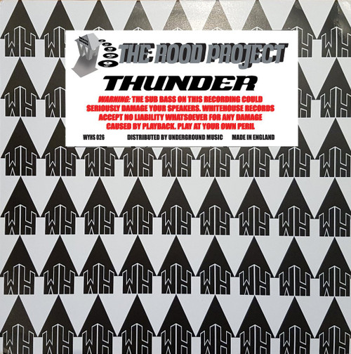 """Rood Project - Thunder - White House Records - 12"""" Vinyl"""