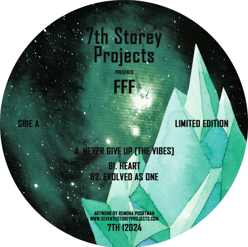 """FFF - Never Give Up - 12"""" Vinyl"""