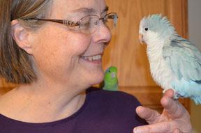 Debbie and Skye of Super Bird Creations