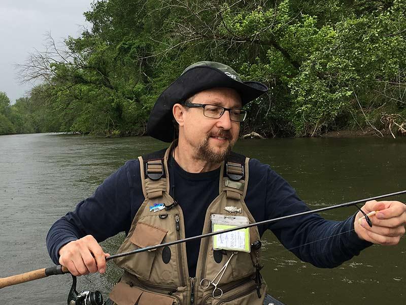 George G. Harris, the wildlife enthusiast and avid fisherman