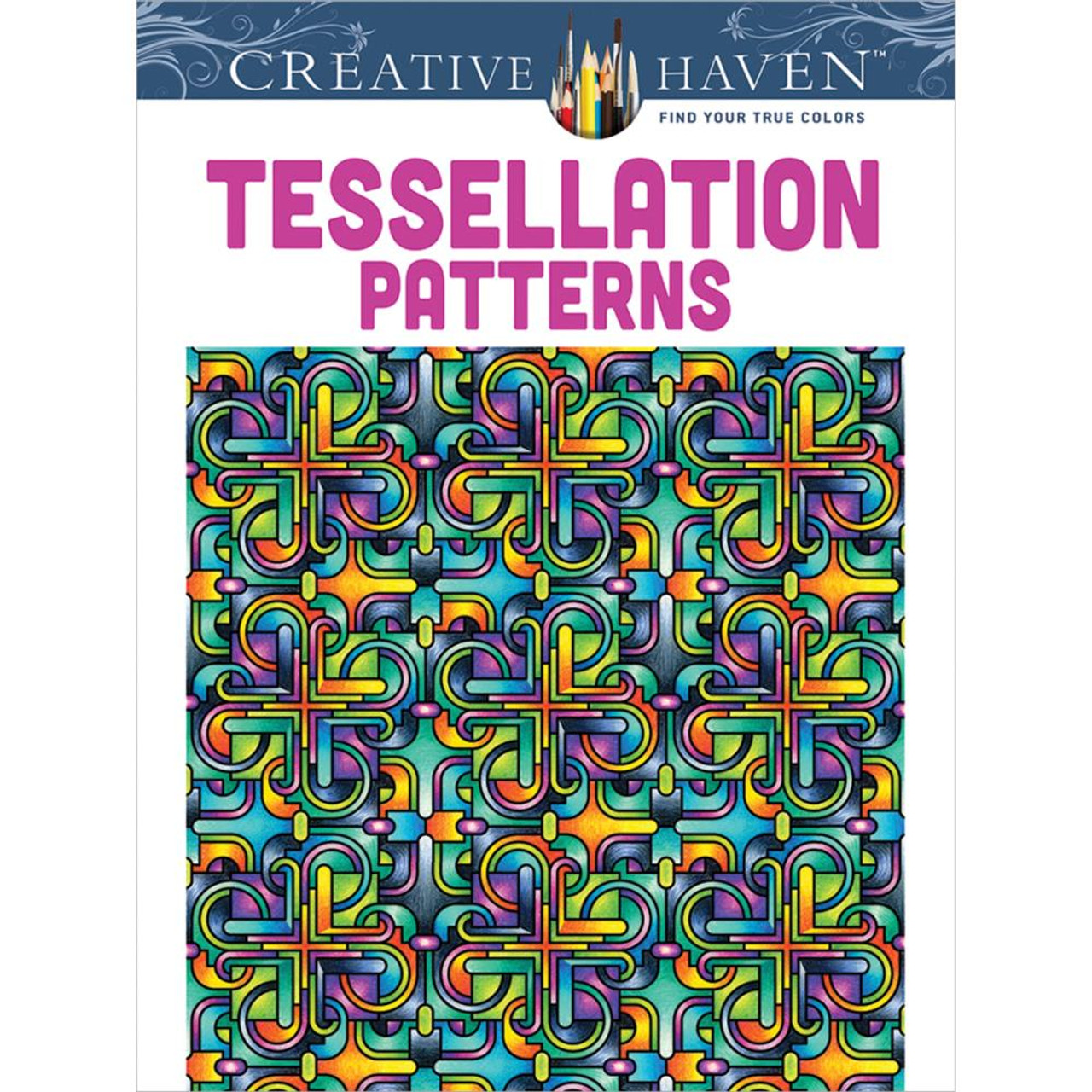 Creative Haven Coloring Book Tessellation Patterns