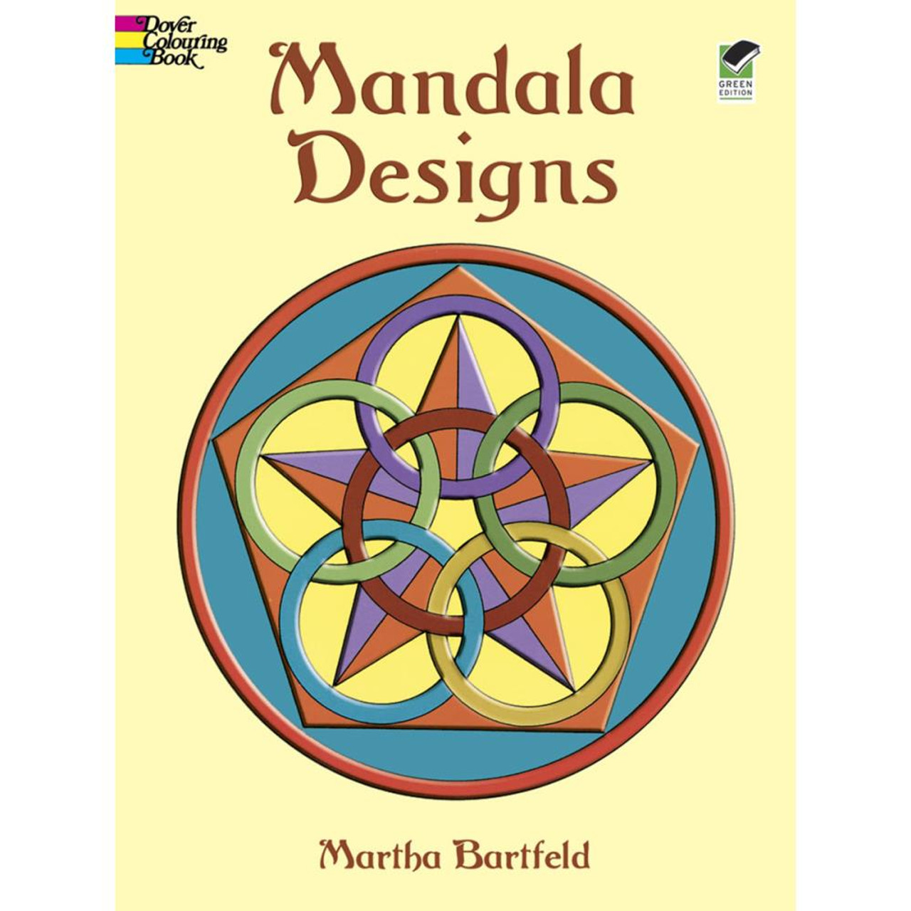 Dover Publications Coloring Book: Mandala Designs - Scrapbook Generation
