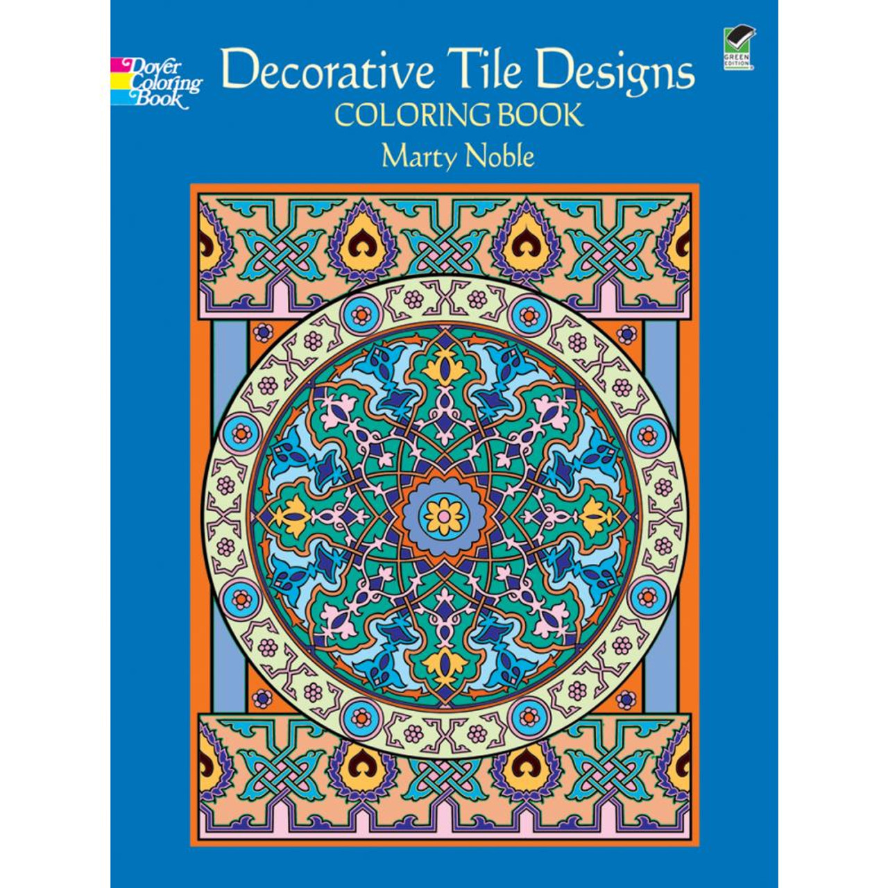 Dover Publications Coloring Book: Decorative Tile Designs ...