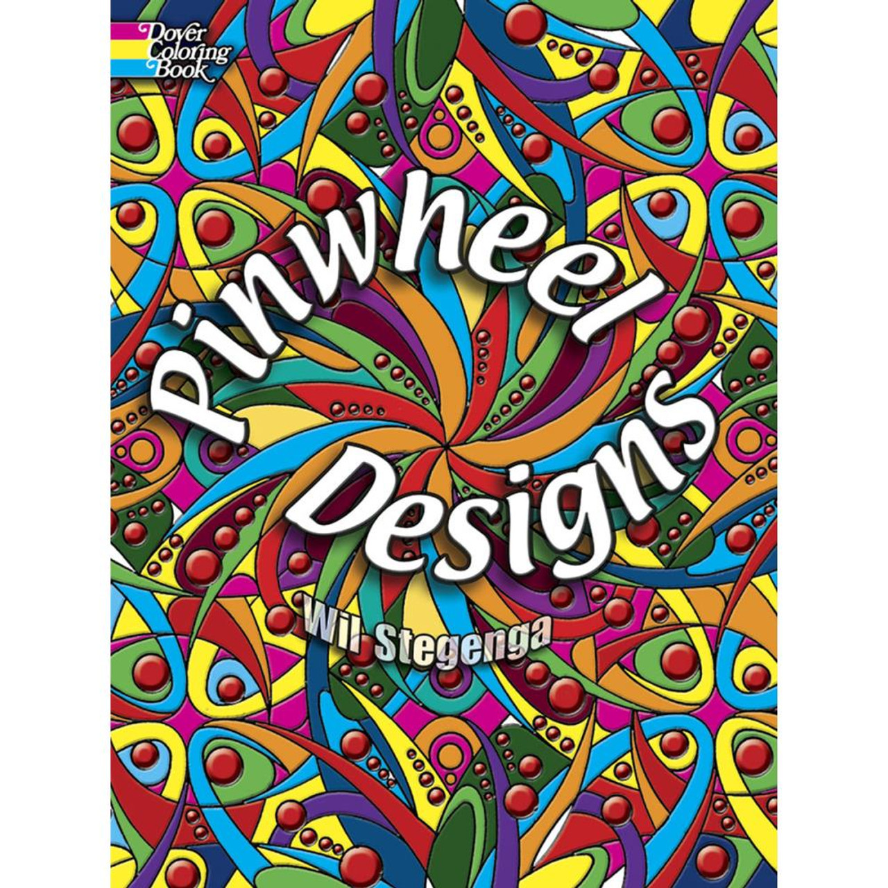 Dover Publications Coloring Book: Pinwheel Designs - Scrapbook ...