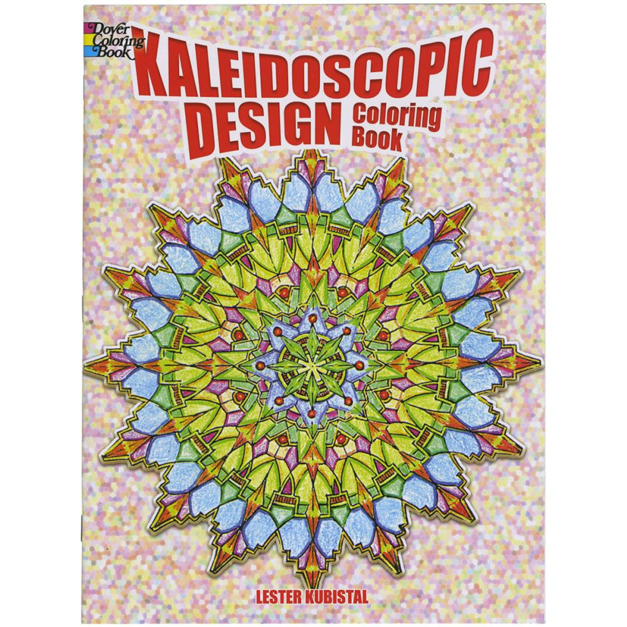 Dover Publications Coloring Book Kaleidoscopic Design