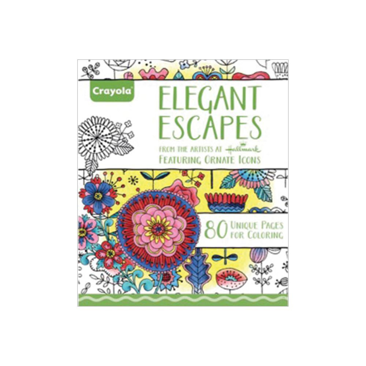 Crayola Coloring Books: Elegant Escapes - Scrapbook Generation