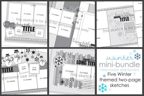 MINI-BUNDLE: January 2015 - Winter Two Page