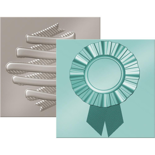 CLEARANCE | WRMK Next Level 6x6 Embossing Folders: Ribbon