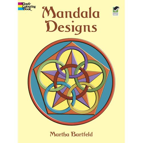 Dover Publications Coloring Book Mandala Designs