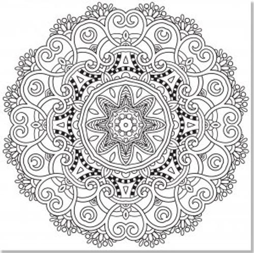 Studio Series By Peter Pauper Press Mandala Designs Artists Coloring Book