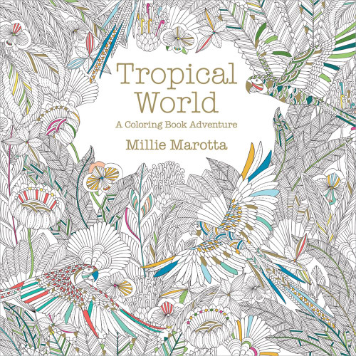 Tropical World A Coloring Book Adventure