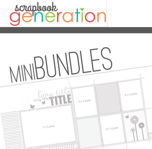 MINI-BUNDLE: November 2015 - Fall - Two Page