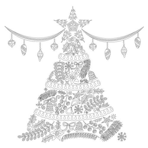 KaiserColour 6x6 Cards w/Envelope: O' Christmas Tree