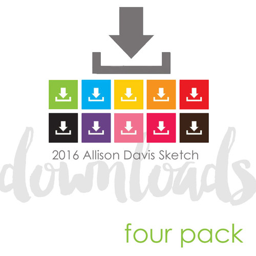 2017 MARCH FOUR PACK + 1 BONUS SKETCH: 11 Photos - Two Pages