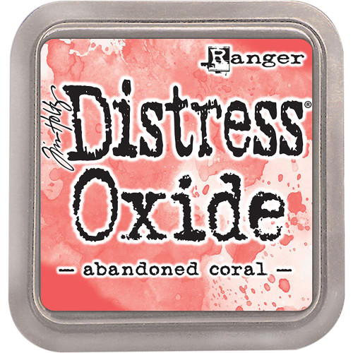 Distress Oxide Ink Pad: Abandoned Coral