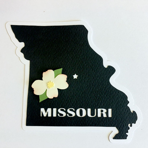 Scrapbooks From The Heart Diecut Title: Missouri