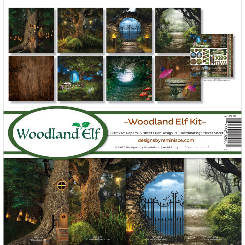 Reminisce 12x12 Collection Pack: Woodland Elf