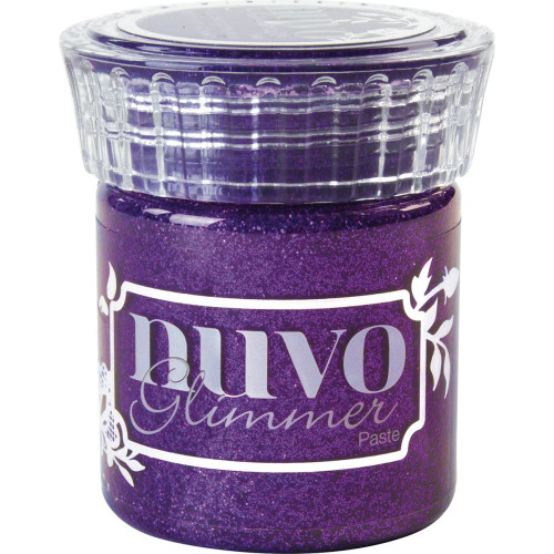 Tonic Studios Nuvo Glimmer Paste: Amethyst Purple