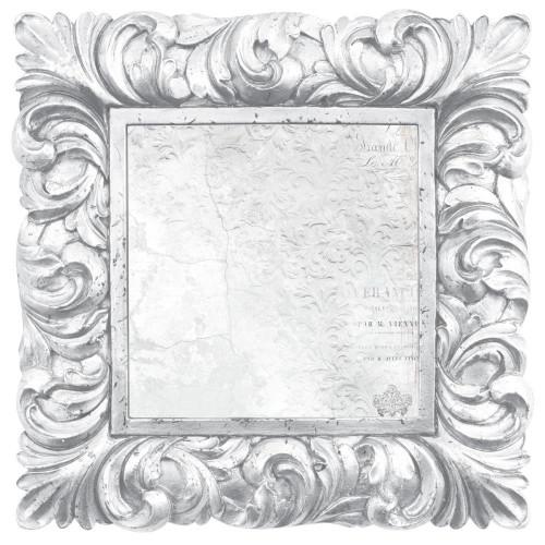 KaiserCraft Wandering Ivy 12x12 Diecut Paper: Porcelain Frame