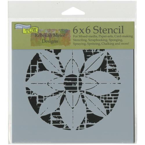 Crafter's Workshop 6x6 Template: Flower Grid