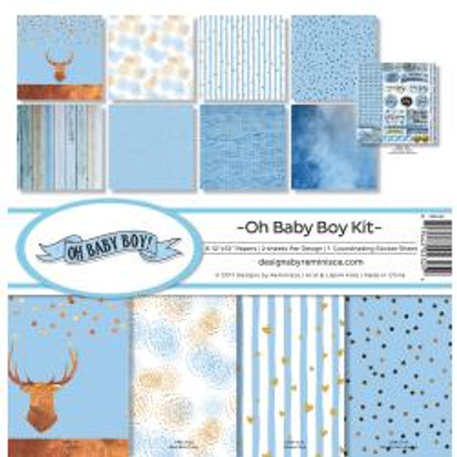 Reminisce 12x12 Collection Pack: Oh Baby Boy