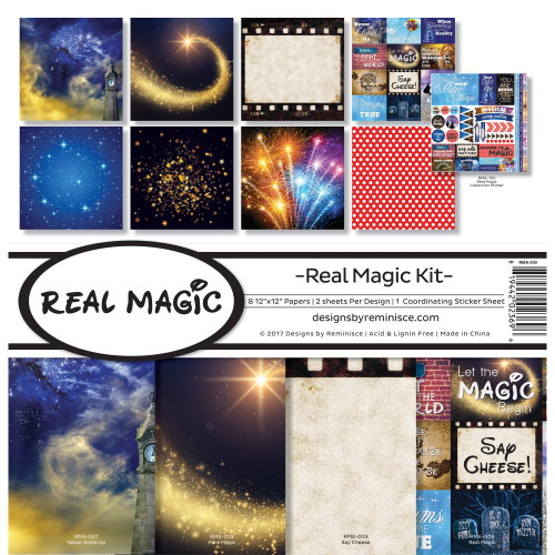 Reminisce 12x12 Collection Pack: Real Magic