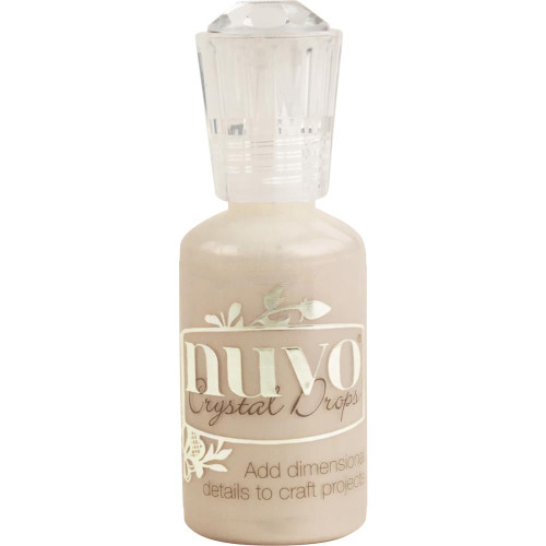 Tonic Studios Nuvo Crystal Drops: Metallic Caramel Cream