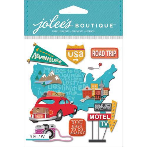 EK Success Jolee's Boutique Dimensional Stickers: Road Trip