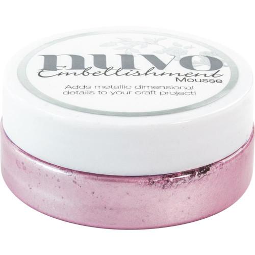 Tonic Studios Nuvo Embellishment Mousse: Lilac Lavendar