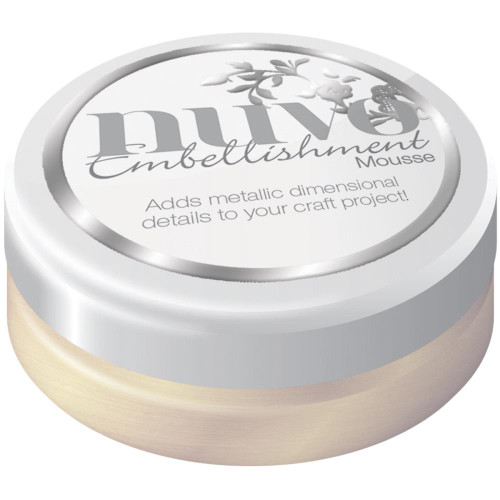 Tonic Studios Nuvo Embellishment Mousse: Mother Of Pearl