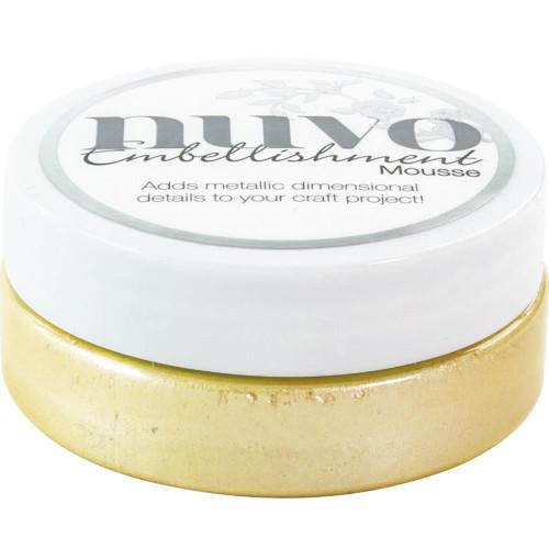 Tonic Studios Nuvo Embellishment Mousse: Lemon Sorbet