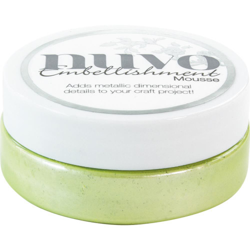Tonic Studios Nuvo Embellishment Mousse: Spring Green